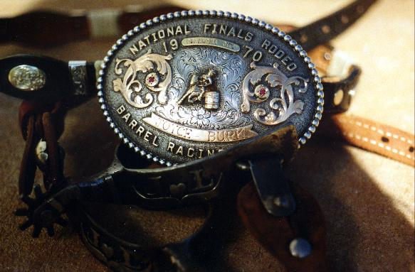 1970 Most Coveted Buckle National Finals Rodeo