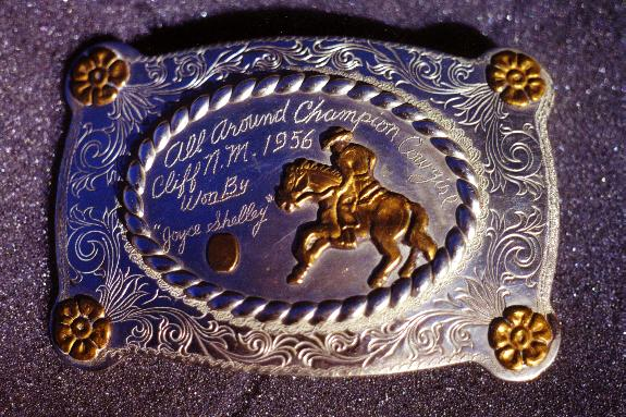 1956 First Buckle I ever won